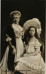 CPA-AK-Kaiserin-Auguste-Viktoria-nebst-Tochter-GERMAN-ROYALTY-867596