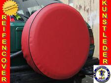 Rot Reserveradabdeckung Reserveradhülle Reifencover 72X28cm