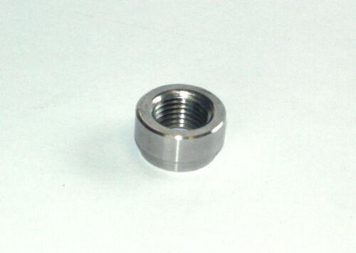 10 Stück Edelstahl V2A Lambdasonden Einschweißmutter Einschweißgewinde M12x1,25