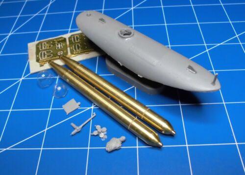 Kleinkampfmittel Torpedo Schnellboot Schlitten I Bausatz 1:72