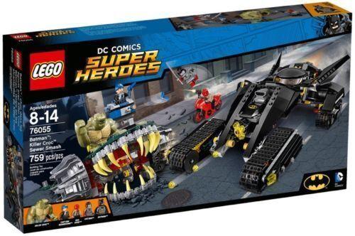 LEGO SUPER HEROES BATuomo DUELLO NELLE FOGNE CON KILLER CROC  - LEGO 76055  vendita online sconto prezzo basso