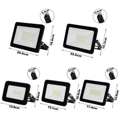 LED Fluter RGB Bewegungsmelder IP65 Innenstrahler Flutlicht Aussen 10W-100W