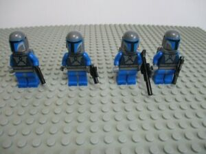 Lego Mandalorian 7914 9525 Clone Trooper Star Wars Minifigures Lot of 30