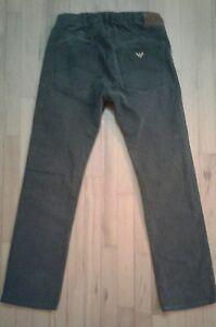 72c2f8d5a7c AJ Armani Jeans Jean Homme J45 Regular Fit Grey Cotton 32 34 actual ...