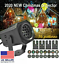 thumbnail 1 - Christmas and Halloween Holiday LED Laser Light Projector House Landscape