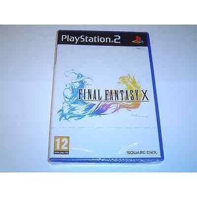 FINAL FANTASY X SONY PLAYSTATION 2 PS2 PAL *BRAND NEW*