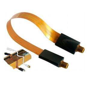 Cable plat passe fenetre va ventana flat coaxial goes for Cable plat passe fenetre