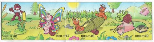 fleur K00 49 France 1999 BPZ kinder les insectes escargot