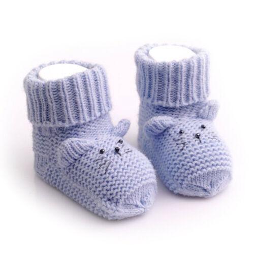 Merino Wool Blend Mouse Shaped Blue CHILDREN/'S SOCKS 3-6 months Size 8