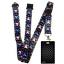 Black-CHECKERS-Standard-size-ID-card-badge-and-lanyard-neck-strap-holder-SPIRIUS thumbnail 82