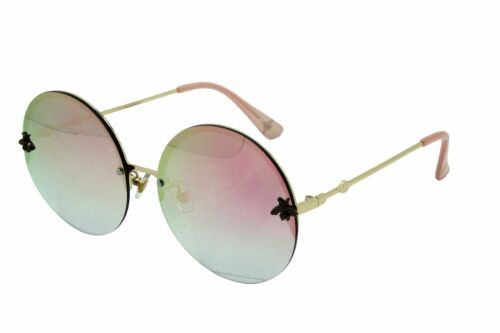 Large Round Lennon Ladies sunglasses Bee Style Oversized Hippie Fashion Retro