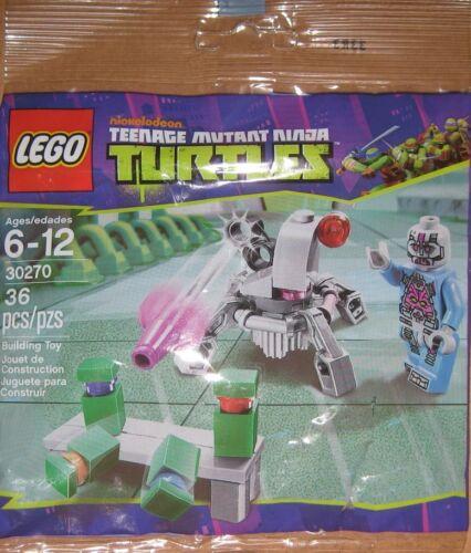 Lego 30270 Teenage Mutant Ninja Turtles Kraang Laser Turret 1 minifigures NEW