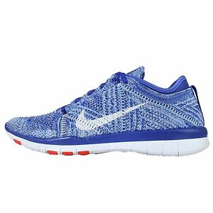 a42e269c3464 NEW NIKE FREE TR FLYKNIT WOMEN S RUNNING SHOES RACER BLUE CRIMSON ...