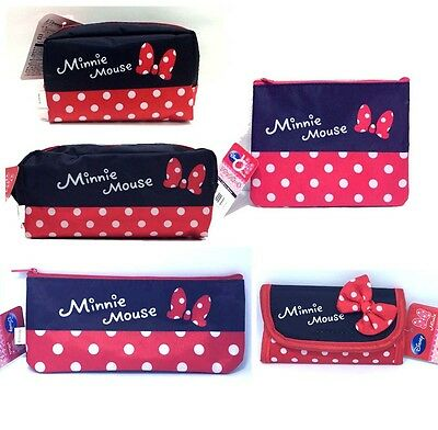 Minnie Mouse Keychain bag / Make up Cosmetic Pouch Stationery Storage bag