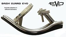 bicycle bash guard bmx freestyle skid plate alloy & steel GT similar protector