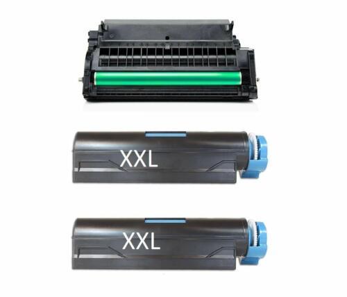2 XXXL Toner 12000S 1x DRUM für OKI  B 432 DN  B 512 DN  MB 492 DN  MB 562 DNW