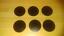 """6 gran Arandelas de Goma 2/"""" o//d con ningún agujero X 3MM de espesor"""