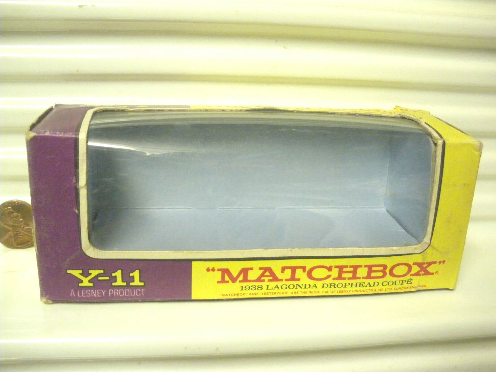 22354a2bc6e5 ... Matchbox Lesney Models Of Of Of Yesteryear Rojo Oscuro Muy Raro Oro  Y11C Lagonda Sin Usar ...