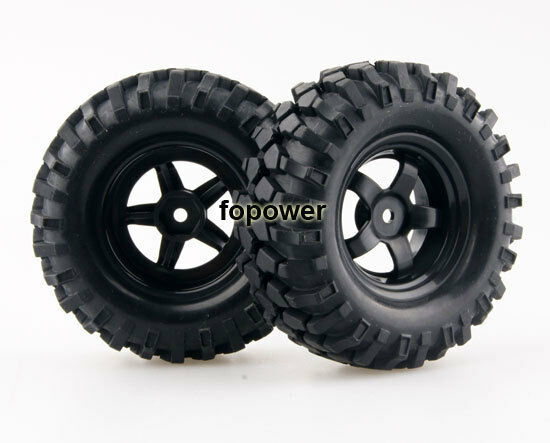 4pcs Tyre 1.9Inch 96mm Tires wheel RC 1:10 Tamiya  Rock Climbing Car 6030-7006