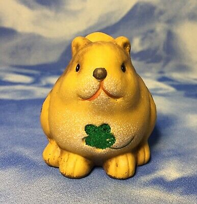 Chubby Squirrel Figurine W Green Glittery Clover Shamrocks St Patrick S Day Ebay A six second slice of the group project for the music video chubby squirrel by pete mitchell. ebay