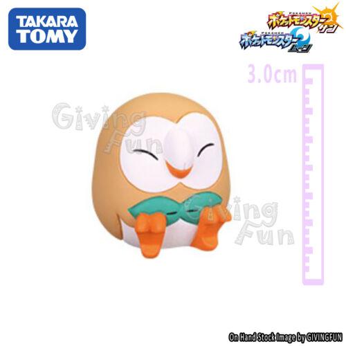 TOMY Pokemon Goodnight Friends Sleeping Pikachu Rowlet Litten Rockruff Figure 5x