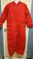 Lapco Frc Winter Insulated Heavy Duty Coveralls Red Flame Resistant