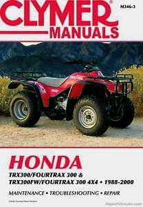 Honda TRX300 TRX 300 TRX300FW Four Trax 1993 reverse shift shifter cable