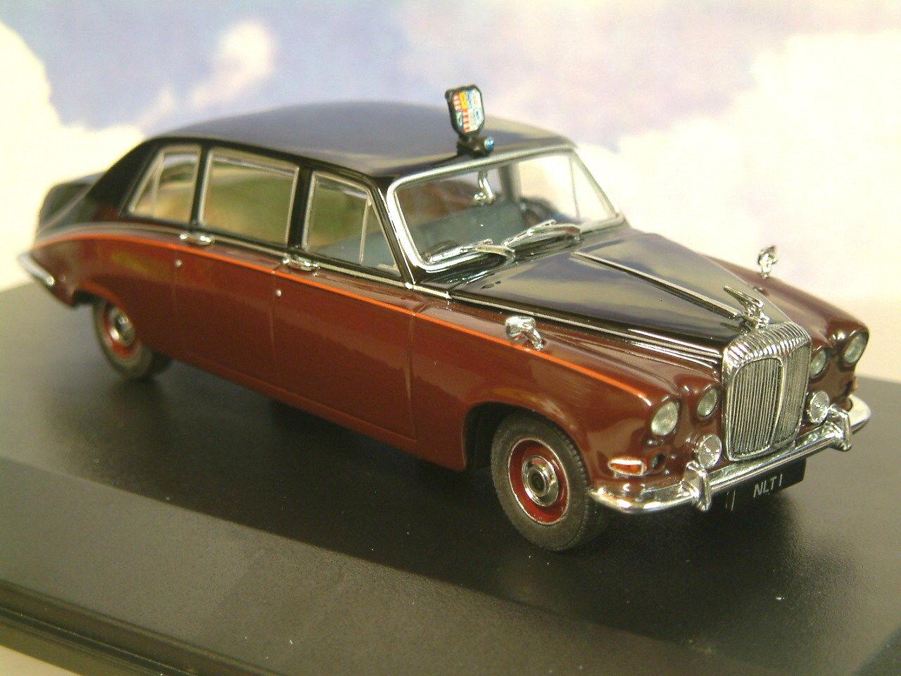 Oxford Diecast 1 43 H. M. Reine Mère Daimler Ds420 Limousine Noir Claret