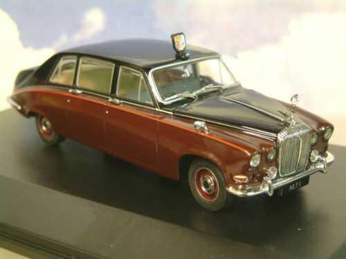 Oxford Diecast 1/43 H m Queen Mother Daimler Ds420 Limousine Schwarz /