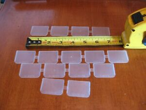 LOT OF 15 Plano 3701 Tackle Box Plastic Dividers FISHING SEPARATORS