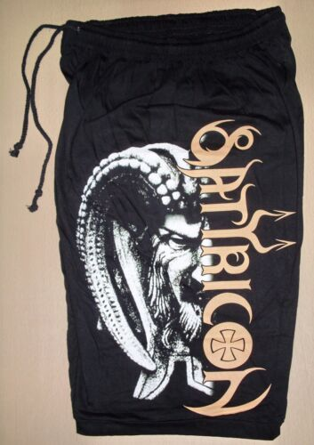 On Sale Satyricon Now Diabolical Cotton Shorts Sweatpants Free Size Black Metal