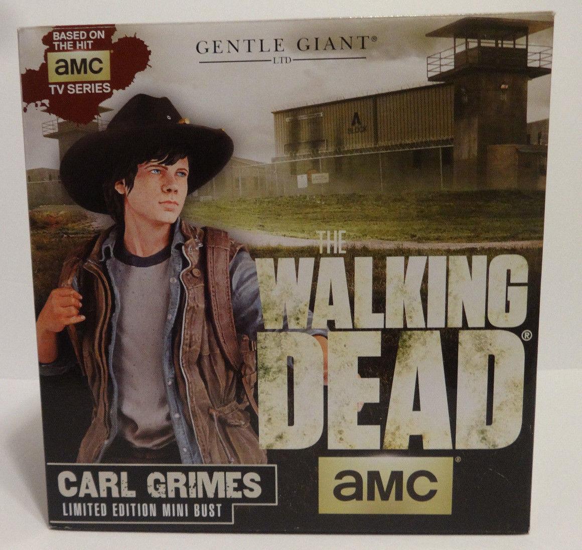 The Walking Dead Cochel Grimes Mini Busto por Gentle Gigante Nuevo En Caja