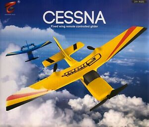 RC-Airplane-Glider-2-4G-2Chanl-Plane-USB-Chargeable-Gyro-System-Cessna-Model
