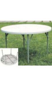 Tavolo Rotondo Per Esterno.Tavoli Tavolo Rotondo Da Giardino Per Esterni Cm 150xh 74 In