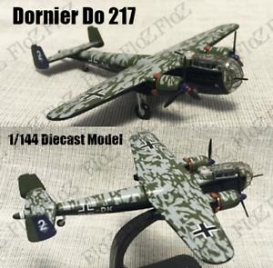 Details about WWII German Dornier Do 217 bomber aircraft 1/144 plane  diecast model