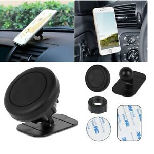 Universal-360-Stick-On-Dashboard-Magnetic-Car-Mount-Holder-For-GPS-Mobile-Phone