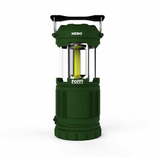 NEBO Poppy 300 Lumen Lantern and Spot Light Green for sale online