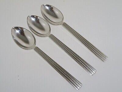 """Bernadotte by Georg Jensen Sterling Silver Salt Spoon 2 1//8/"""""""