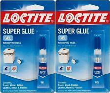 Loctite 235495 Clear Super Glue Gel 2 Gram Tube No Messdrip 2 Pack