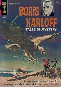 Image Is Loading BORIS KARLOFF TALES OF MYSTERY 17 VG F