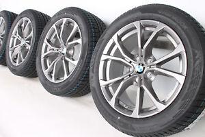 NEU-Original-BMW-3er-G20-G21-17-Zoll-Alufelgen-776-V-Speiche-Winterraeder-RDCi