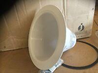 Juno Vulite Lighting V3034w-wh 6 Economy Recessed White Full Baffle Trim