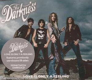 The Darkness Love Is Only A Feeling Uk 3 Tk Cd Single Ebay