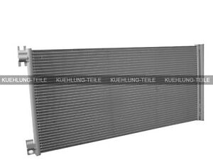 Clima radiador clima condensador 622x312x16 mm Opel