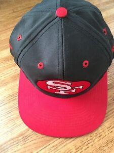 Vintage 90 s NFL San Francisco 49ers Cap Hat with Snapback  92fca0a03