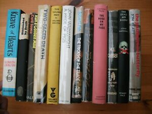 12-x-Crime-Thrillers-1961-1978-All-1st-eds-in-D-Ws-Inc-Maigret-Ross-1-signed