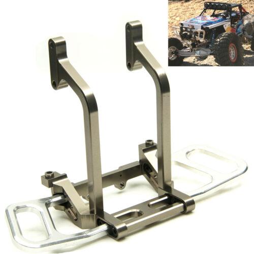 Aluminum Front Bumper Bull Bar Set For Axial Wraith 1//10 RC Rock Crawler Truck