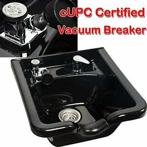 Portable Drainage Vacuum Breaker Shampoo Bowl Sink W Neck
