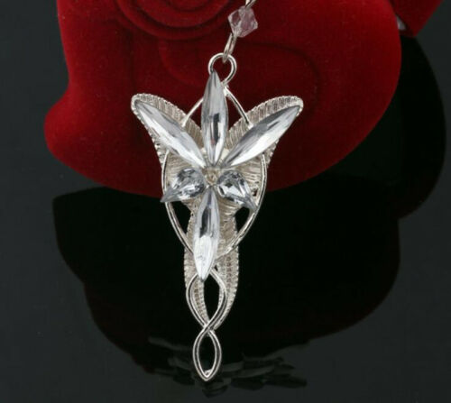 Fashion Vintage Arwens Evenstar Necklace Lord The Rings Pendant Necklace Jewelry