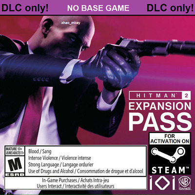 Hitman 2 Expansion Pass 2018 Pc Steam Key Global Fast